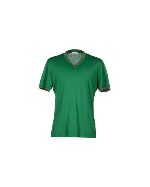 Moschino | Мужская Зелёная Футболка