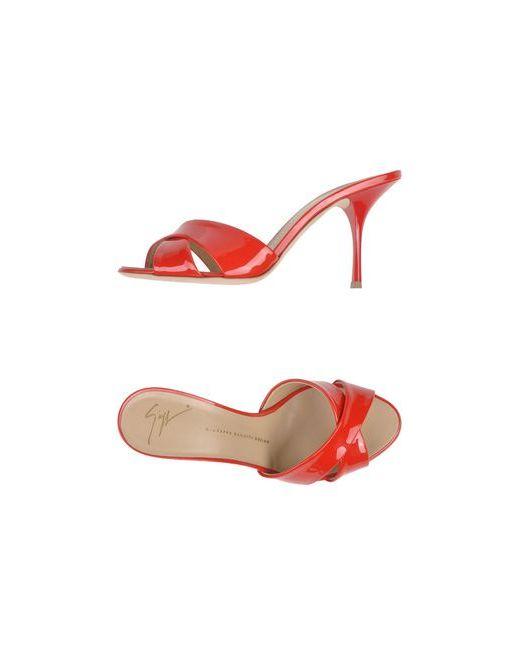 Giuseppe Zanotti Design | Женские Красные Сандалии