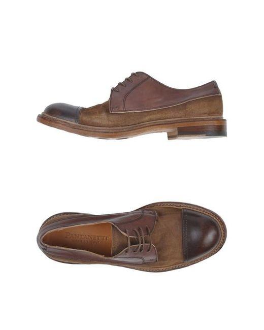 Pantanetti | Мужская Обувь На Шнурках