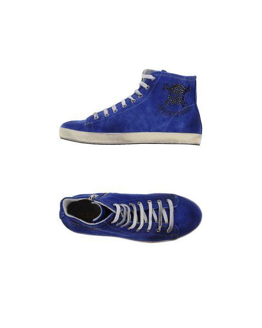 Happiness Shoes   Женские Синие Высокие Кеды И Кроссовки