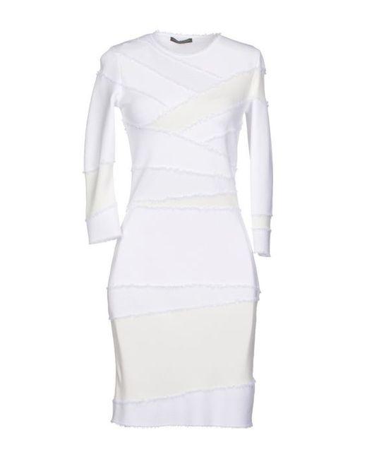 Alexander McQueen   Женское Короткое Платье