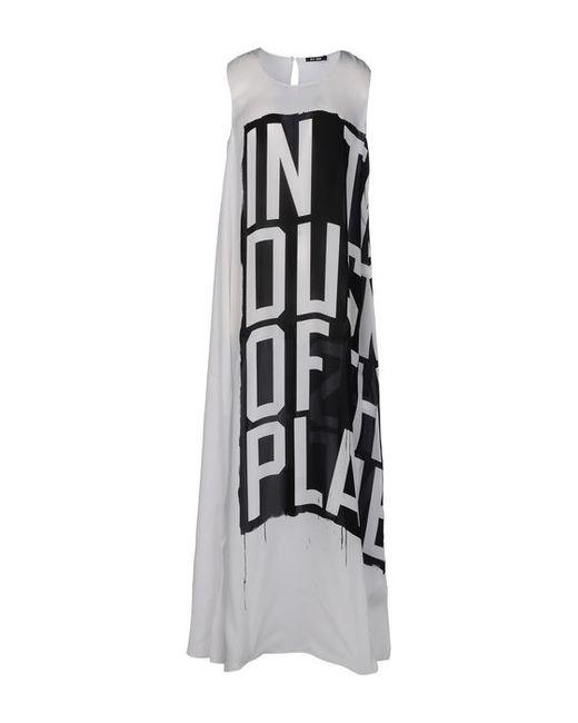 Blk Dnm | Женское Длинное Платье