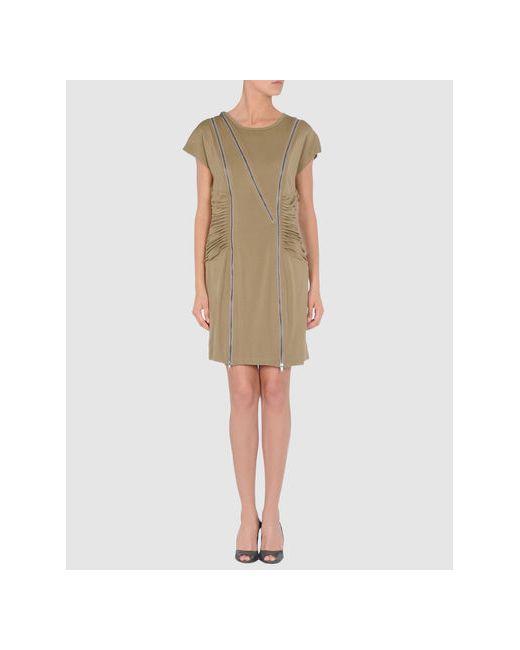 Catherine Malandrino | Женское Хаки Короткое Платье