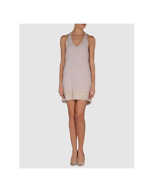 Clu | Женское Серое Короткое Платье