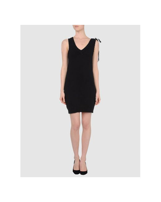 0051 Insight   Женское Чёрное Короткое Платье