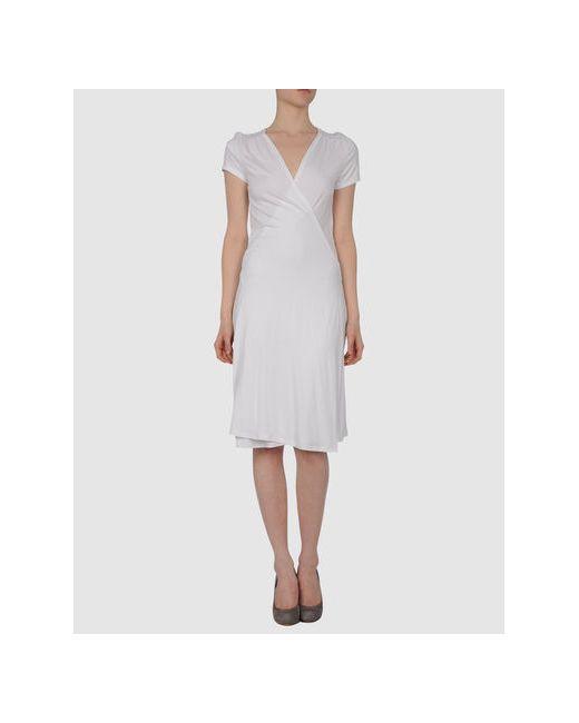 Puriti | Женское Белое Короткое Платье