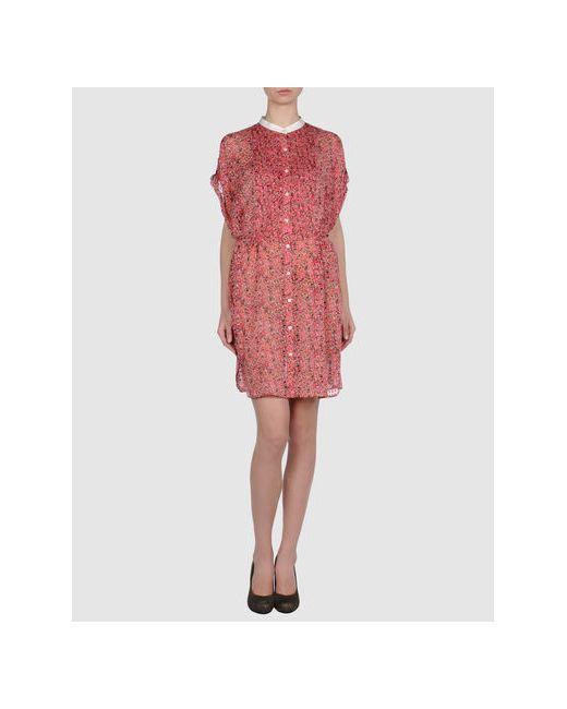 Edun | Женское Фуксия Короткое Платье