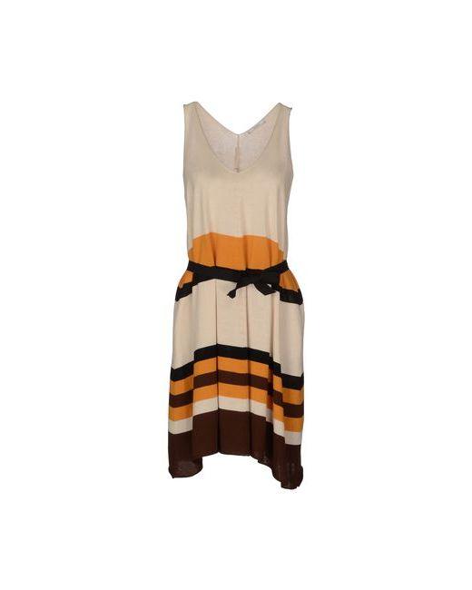 Tua Nua | Женское Слоновая Костящее Короткое Платье
