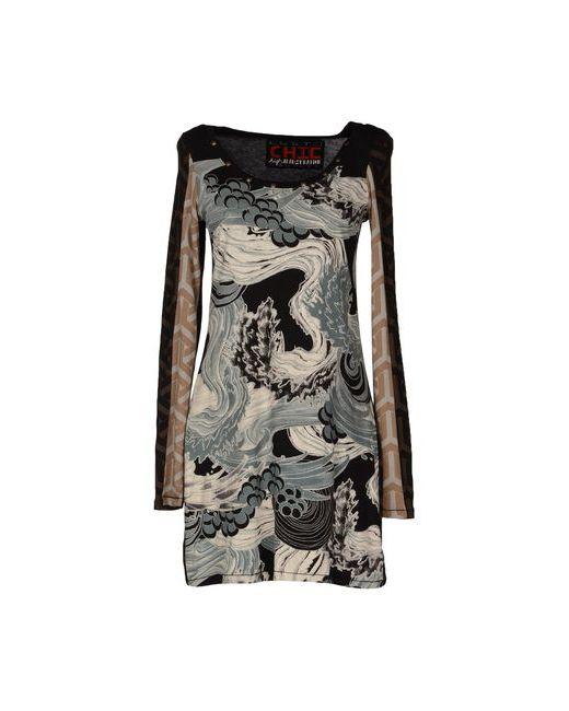 Custoline | Женское Чёрное Короткое Платье