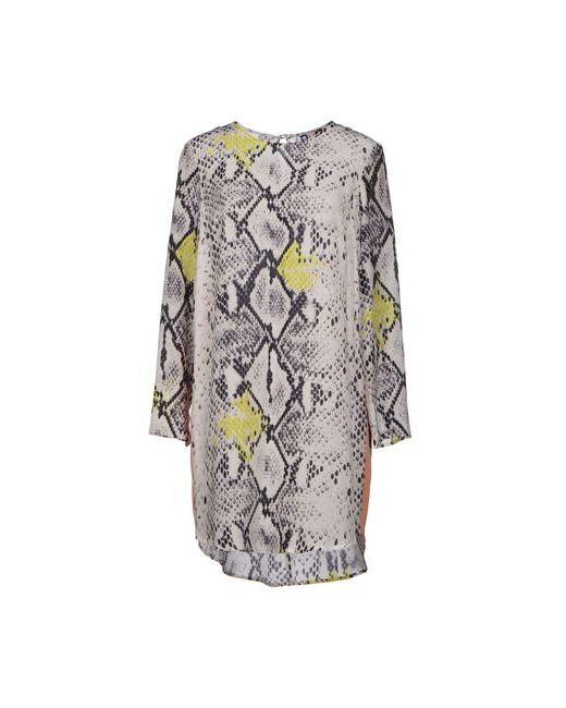 MSGM   Женское Слоновая Костящее Короткое Платье