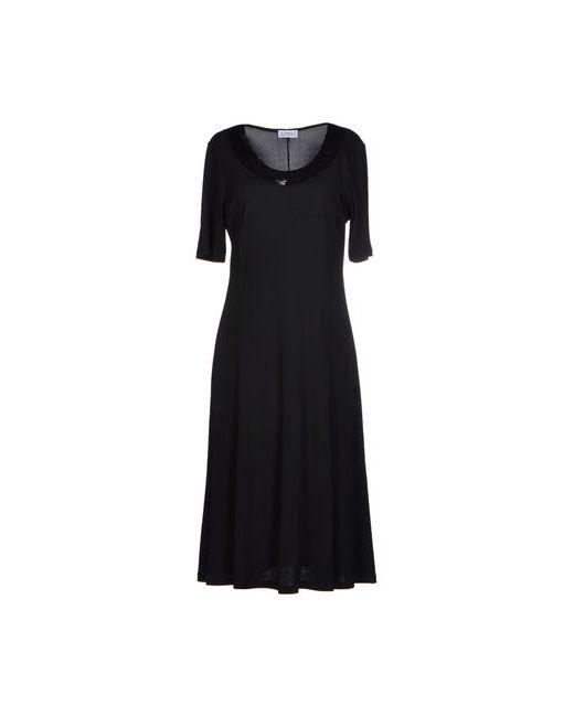 FRANCESCA MERCURIALI | Женское Чёрное Платье До Колена