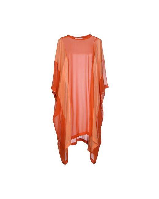 Marios | Женское Оранжевое Короткое Платье