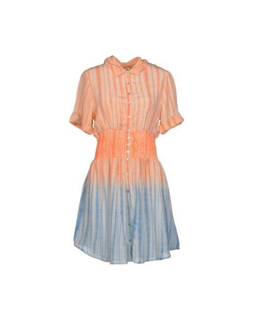 Dress Gallery | Женское Розовое Короткое Платье