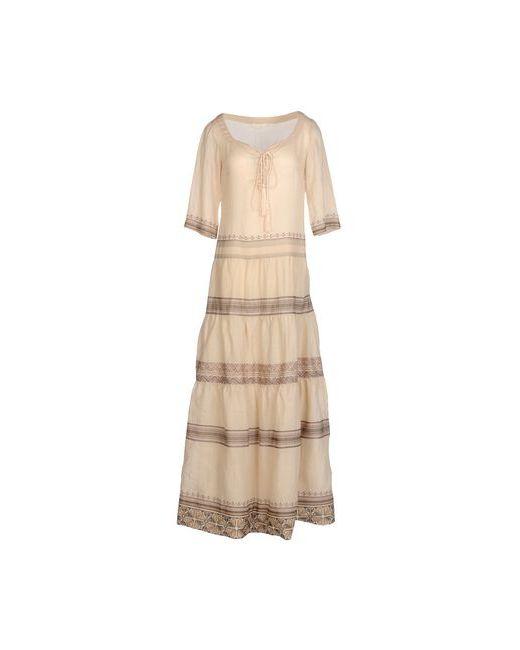 Scervino Street | Женское Бежевое Длинное Платье