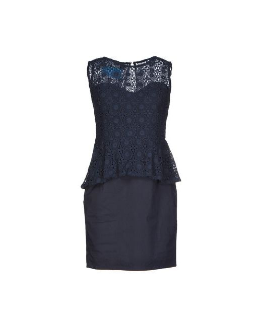 ..,Merci | Женское Синее Короткое Платье