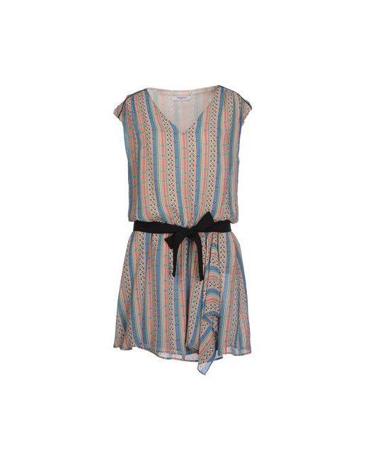 Axara Paris | Женское Синее Короткое Платье