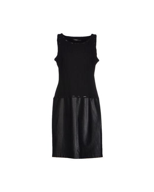 Pianurastudio | Женское Чёрное Короткое Платье