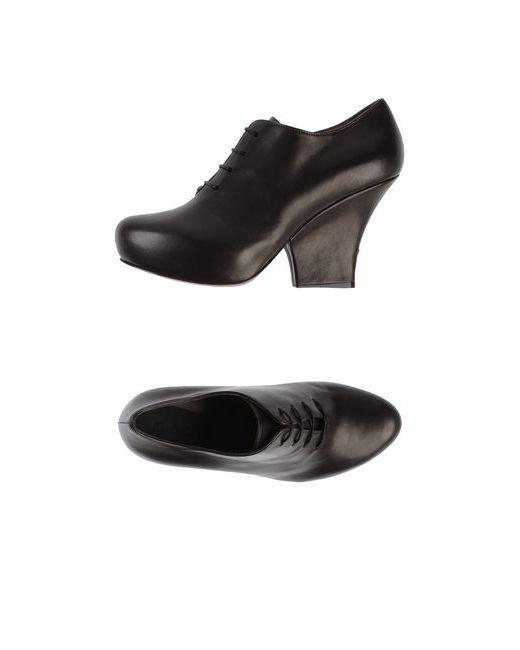 Marni   Женская Коричневая Обувь На Шнурках