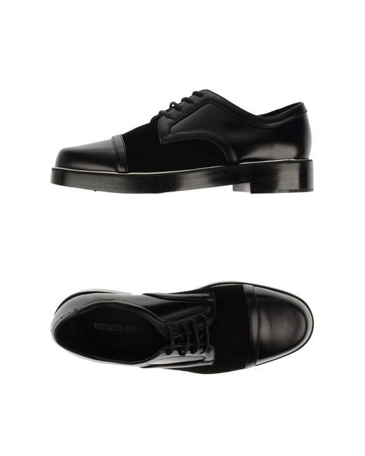 Nicholas Kirkwood   Мужская Обувь На Шнурках
