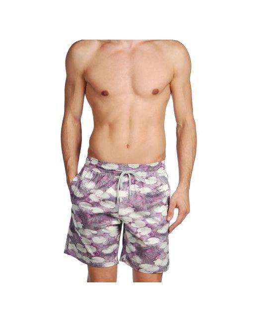 Terramarique | Мужские Фиолетовые Шорты Для Плавания