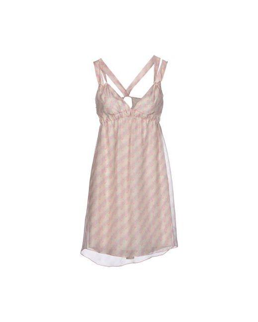 Kristina Ti | Женское Розовое Короткое Платье
