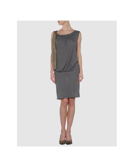 Alice San Diego | Женское Серое Короткое Платье