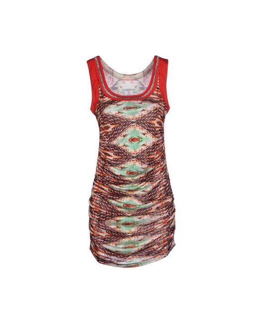 Custo Barcelona | Женское Красное Короткое Платье