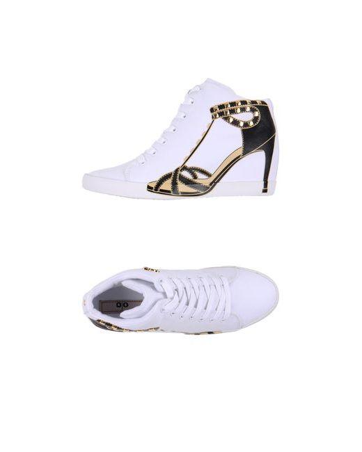 Olo | Женская Белая Обувь На Танкетке