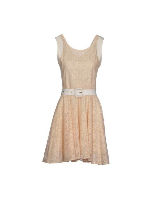 Deby Debo | Женское Розовое Короткое Платье