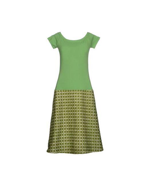 Laviniaturra   Женское Зелёное Платье До Колена