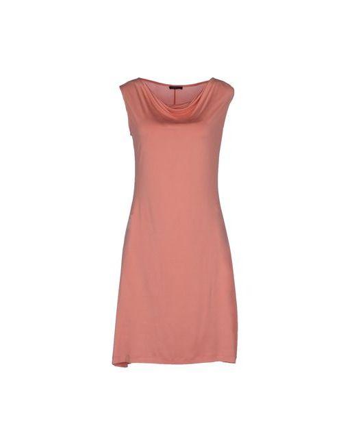 Peserico   Женское Розовое Короткое Платье