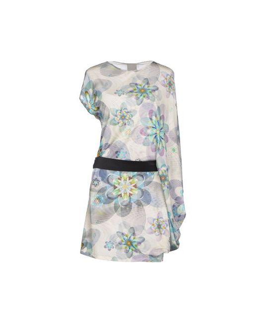Alice San Diego   Женское Слоновая Костящее Короткое Платье