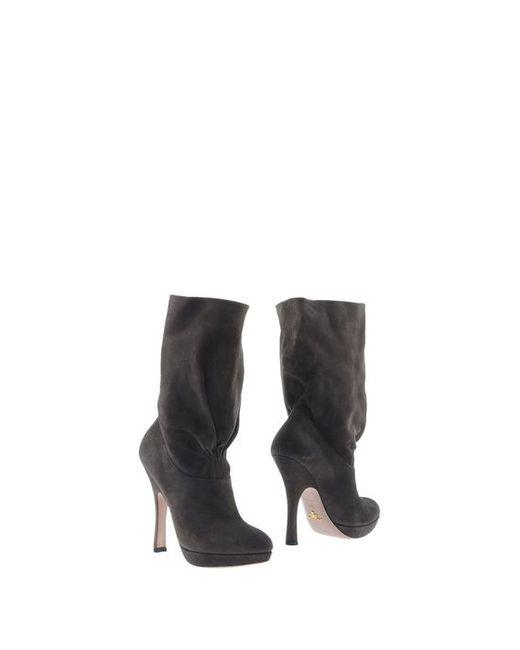 Prada | Женские Полусапоги И Высокие Ботинки