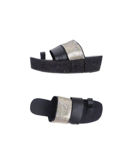 Collection Privēe?   Женская Чёрная Обувь На Танкетке