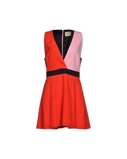 Fausto Puglisi | Женское Красное Короткое Платье