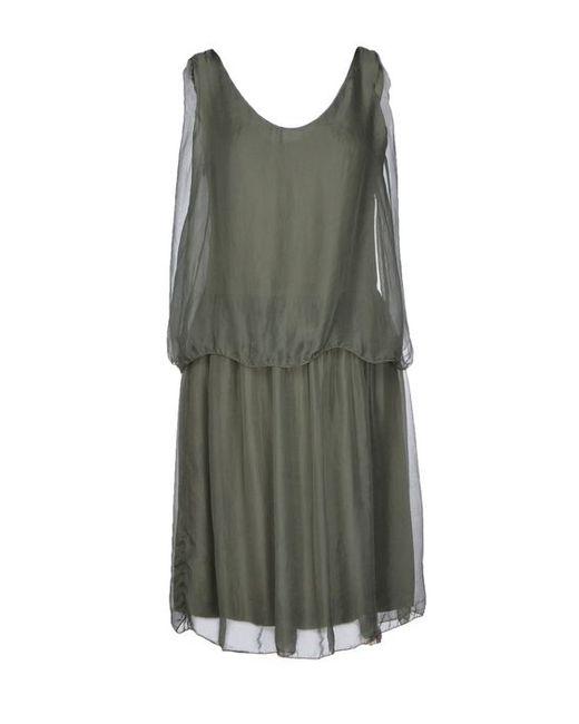 Biancoghiaccio | Женское Короткое Платье