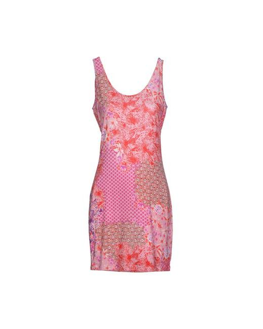 MET | Женское Розовое Короткое Платье