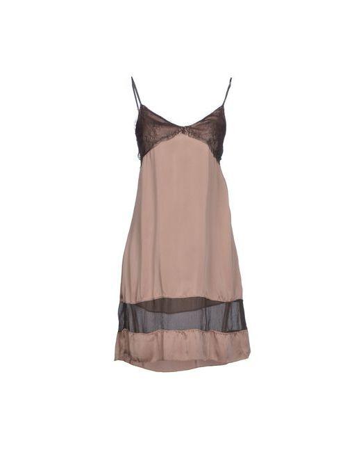 Kaos | Женское Серое Короткое Платье