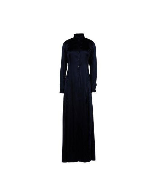 Bikkembergs | Женское Синее Длинное Платье