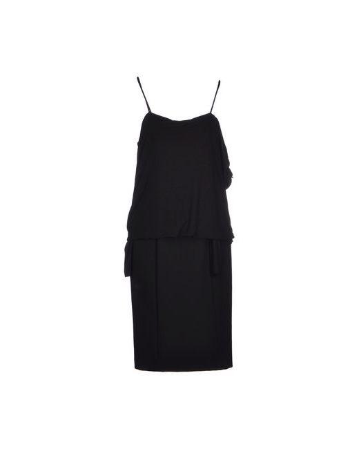 Caractere | Женское Чёрное Платье До Колена