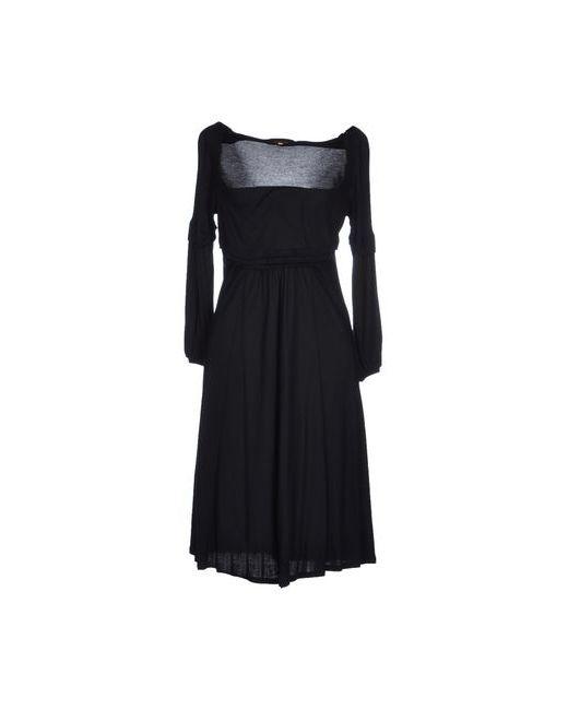 Jo No Fui   Женское Чёрное Платье До Колена