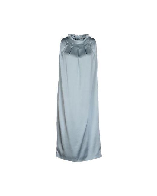 Aquilano-Rimondi | Женское Голубое Платье До Колена
