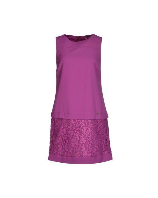 Toy G. | Женское Розовато-Лиловое Короткое Платье