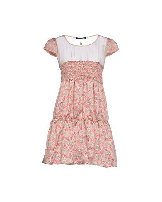 Liu •Jo | Женское Розовое Короткое Платье