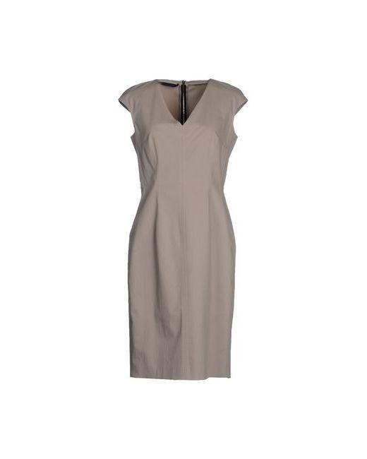 Les Copains   Женское Бежевое Короткое Платье