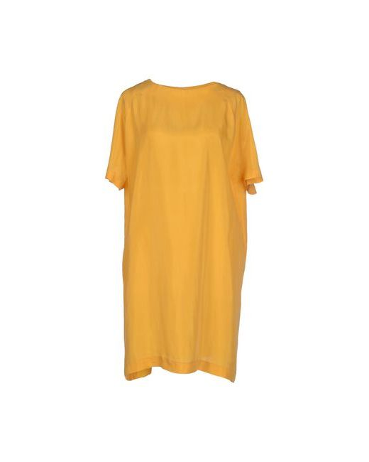 Siyu | Женское Охра Короткое Платье
