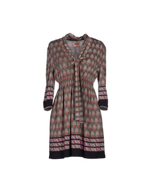 Orion London | Женское Серое Короткое Платье
