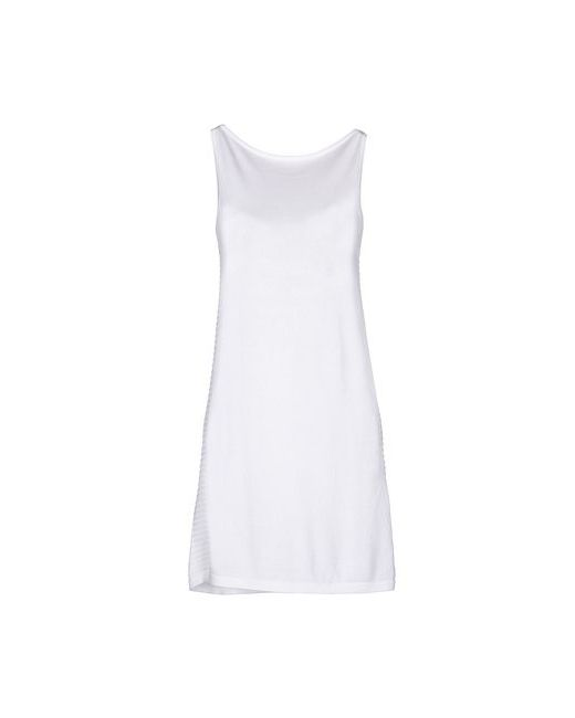Pinko Black   Женское Белое Короткое Платье