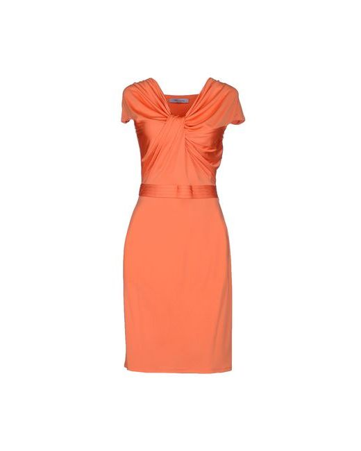 Blumarine | Женское Оранжевое Короткое Платье