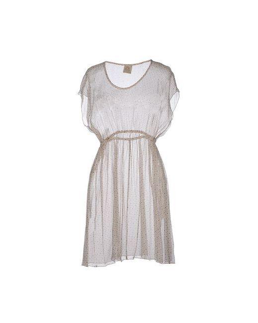 Attic And Barn | Женское Бежевое Короткое Платье